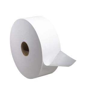 Tork Advanced Jumbo Bath Tissue Roll, 1-Ply, 10 inch Dia., Perforated