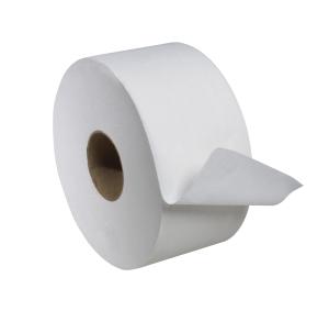 Tork Advanced Mini Jumbo Bath Tissue Roll, 2-Ply, 7.36 inch Dia.