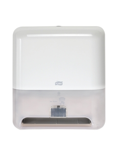 Tork Elevation® Matic® Hand Towel Roll Dispenser with Intuition® Sensor, White